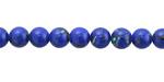 Cobalt Mosaic Shell Round 6-6.5mm