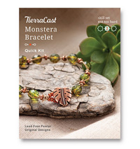 TierraCast Monstera Bracelet Kit