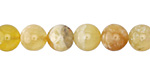 Yellow Opal Round 8mm