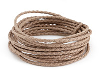 Sand Braided Cotton Bolo Cord 2mm