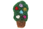 Felt Christmas Tree 18x29mm