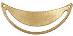 Zola Elements Matte Gold (plated) Arc Cutout Focal Link 50x20mm