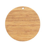Walnut Wood Coin Focal 38mm