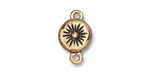 TierraCast Antique Gold (plated) Starburst Magnetic Clasp 17.5x11mm