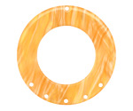 Zola Elements Honeycomb Acetate Donut Chandelier 38mm