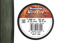 "Wildfire Green .006"" Thread, 20 yd"
