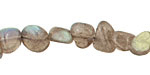 Labradorite Flat Polished Pebble (side drilled) 5-10x8-12mm