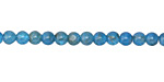 Pacific Blue Apatite (AA) Round 4-4.5mm