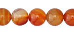 Carnelian (natural) Round 12mm