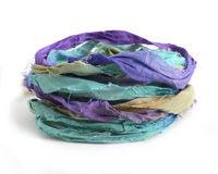 Rainforest 100% Silk Sari Ribbon