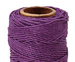 Dark Purple Hemp Twine 20 lb, 205 ft