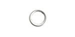 Nunn Design Sterling Silver (plated) Open Frame Mini Hoop 12mm