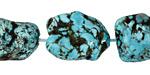 Turquoise Magnesite Nugget 15-22x13-23mm