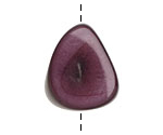 Tagua Nut Grape Thick Slice 16-18x26-32mm