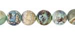 Verde Terra Agate Round 10mm