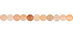 Peach Moonstone (Multi) Round 4-5mm