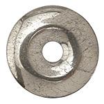 Golden Pyrite (silver tone) Donut 45mm