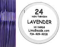 Parawire Lavender 24 Gauge, 10 Yards