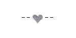 Silver (plated) Simple Heart Focal Bead 7x6mm