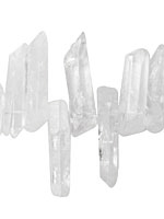 Rock Crystal Stick Graduated 6-12x20-70mm