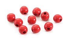 Poppy Wood Round 10mm
