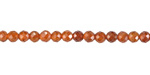Hessonite Faceted Round 2.5mm