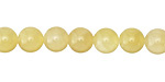 Yellow Calcite Round 8mm
