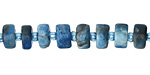 Pacific Blue Apatite Wheel 4-6x8-10mm