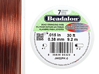 "Beadalon Pink .015"" 7 Strand Wire 30ft."