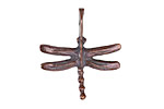 Greek Bronze (plated) Dragonfly Pendant 25x28mm