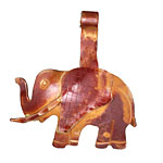 Patricia Healey Copper Jumbo Elephant Donut Bail 41x47mm