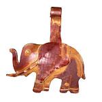Patricia Healey Copper Jumbo Elephant Donut Bail 41x47mm