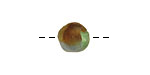 African Recycled Glass (earthy) Irregular Round 10-11mm