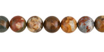 Rocky Butte Picture Jasper Round 8mm