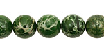 Green Impression Jasper Round 10mm