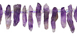 Amethyst Rough Nugget Drop 2-5x7-21mm