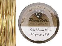 Vintaj Solid Brass Wire 20 gauge, 45ft.