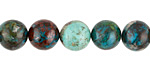 Chrysocolla Round 9-10mm