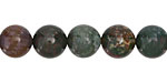 Bloodstone Round 10mm