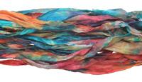 "Old English Hand Dyed 100% Habotai Silk Ribbon 1/2""-1"""