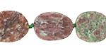 Kashgar Garnet (Matte) Oval Slice 18-22x12-15mm