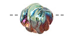 Xaz Raku Green Dragon Orb 20-23mm