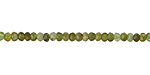 Vesuvianite Faceted Rondelle 3mm
