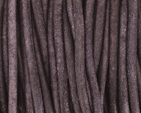 Natural Pacific Round Leather Cord 2mm