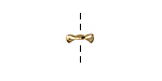 Amoracast Gold Vermeille Cat Ears Cap 9x3mm