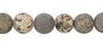 Artistic Stone (matte) Round 10mm