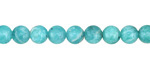 Peruvian Amazonite Round 6mm