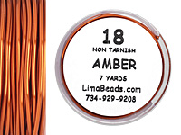 Parawire Amber 18 Gauge, 7 Yards