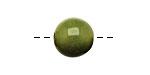 Tagua Nut Apple Round 16mm