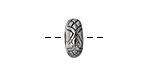 Pewter Snakeskin Ring 13mm